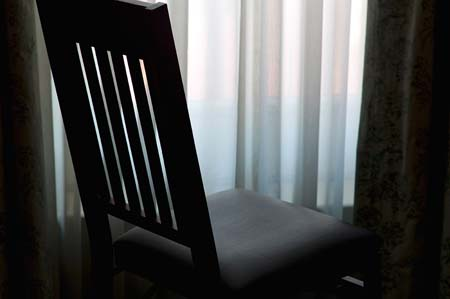 Empty Chair by Andrea Rosenthal