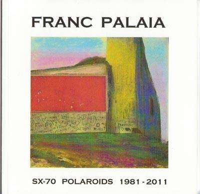 Franc Palaia book, 2x70 Polaroids 1981 - 2011, Davis Orton Gallery
