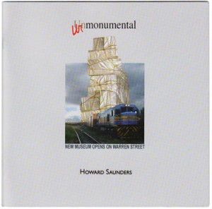 urmonumental, a book by howard saunders