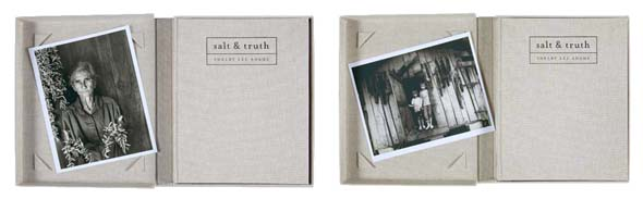 """Limited Edition 'salt & truth' with 8"""" x 10"""" print by Shelby Lee Adams"""