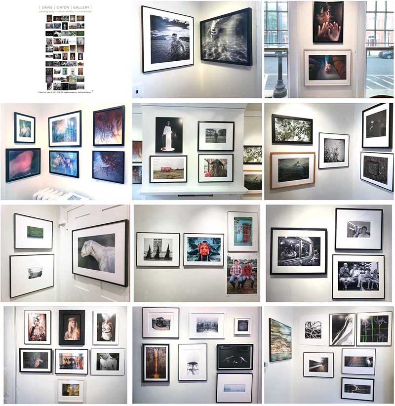 Davis Orton Gallery group show installation