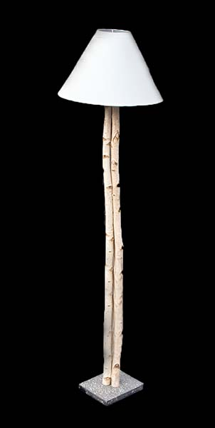 Birch Tree Lamp by George Pollack