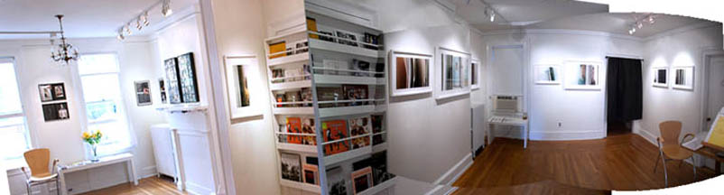 gallery view towards prison alley