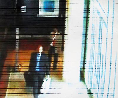 CCTV1- by Gary Duehr from series Closed Circuit at Davis Orton Gallery