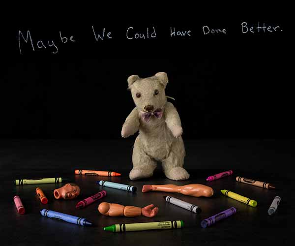 Tim Brill-Maybe we could have done better