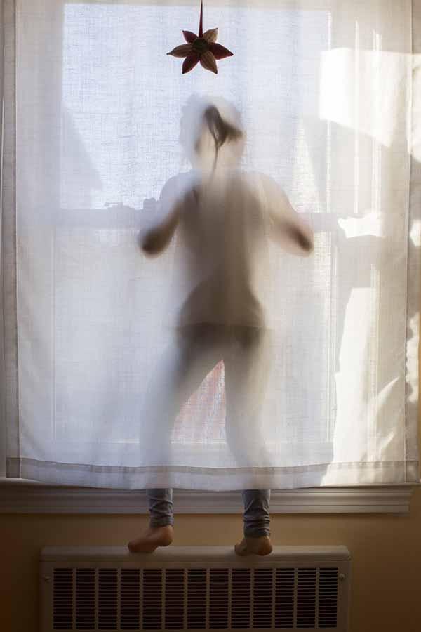 Elena at Window by Tiziana Rozzo