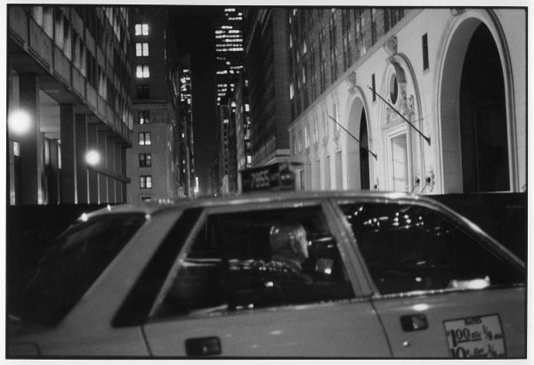 On the Overpass to Park Ave., silver gelatin print by Peter Donahoe