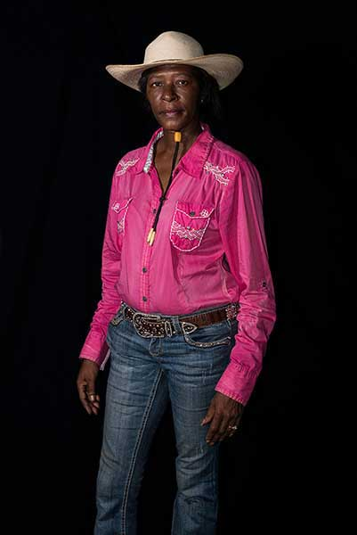 Machelle Baccus from Cowboys of Color by Don Russell