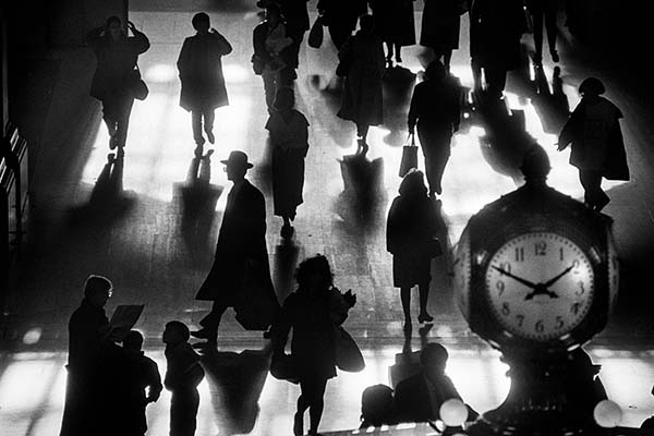 Grand Central Terminal, 1990, Silver Gelatin Print by Richard Sandler