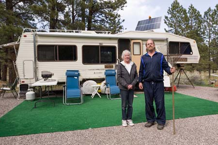 Ralph and Patsy, Campground Hosts, UT by David Gardner