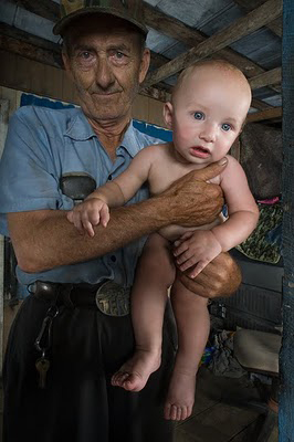 Lloyd Deane and Grandbaby by Shelby Lee Adams