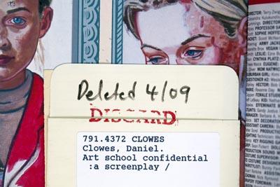 Daniel Clowes' Art School Confidential, 2011by Laura Noel
