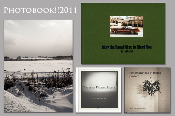 PHOTOBOOK 2011 Davis Orton Gallery, Best of Show: Jonathan Lipkin, David Morris Cunningham, Sara Macel, Amanda Panecale