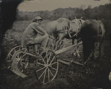 Craig Barber - Eric on Plow w-Horses