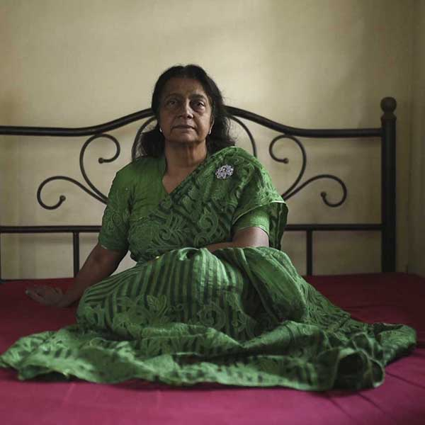 Laila Parveen Banu, video still from Women Fighters by Carlos Saavedra
