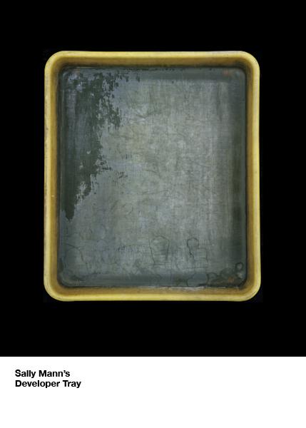 sally mann's developer tray by john cyr