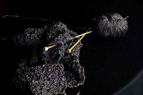 Knitting by Andrea Rosenthal