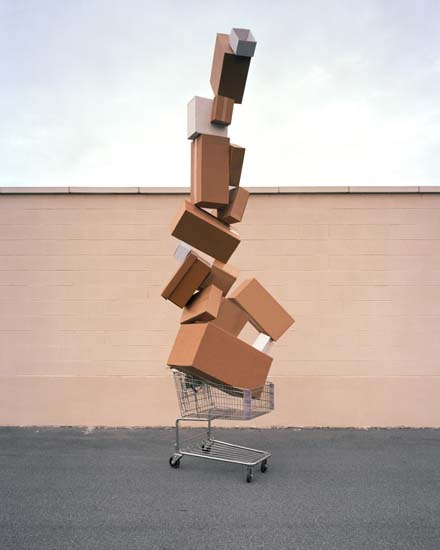 Shopping Totem by David Welch