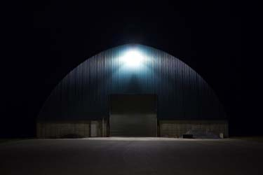 Public Works Garage, Vassalboro ME by Remi Thornton