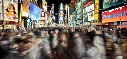 (Times Square) from Neurosis by Bojune Kwon