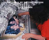 Ellie Brown photobook cover, Two Sisters