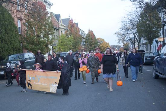 Halloween Parade arrives belo3rd, photograph by karen davis