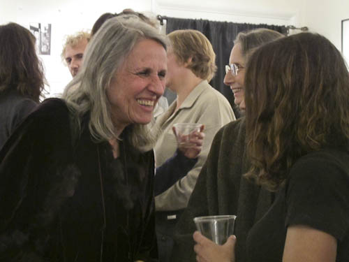 Sylvia Plachy at Davis Orton Gallery reception
