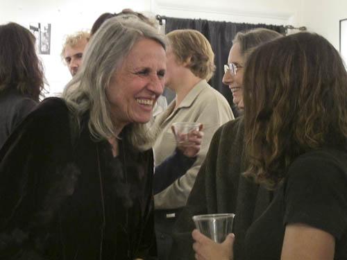 Sylvia Plachy at Davis Orton Gallery reception