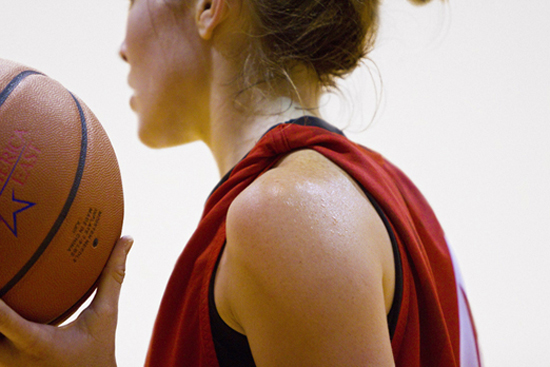 woman basketball player