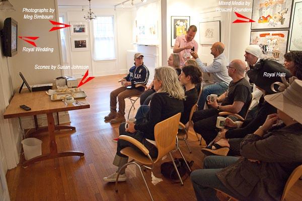 Royal Wedding Attendees at Davis Orton Gallery