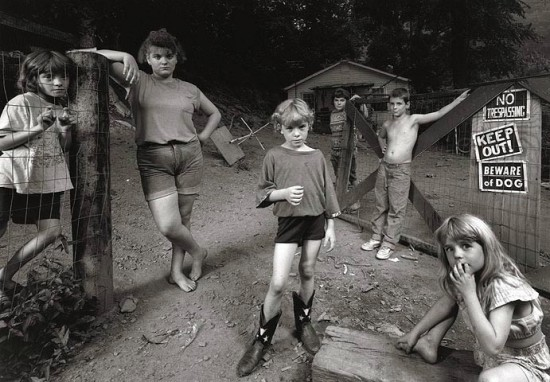 The Newsome Children, 1997 by Shelby Lee Adams
