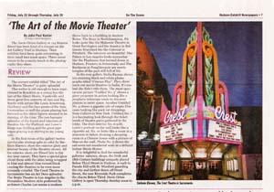 Review praises Klavens and Raman Theater photographs