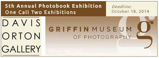 Davis Orton Gallery - Griffin Museum Photobook Exhibition