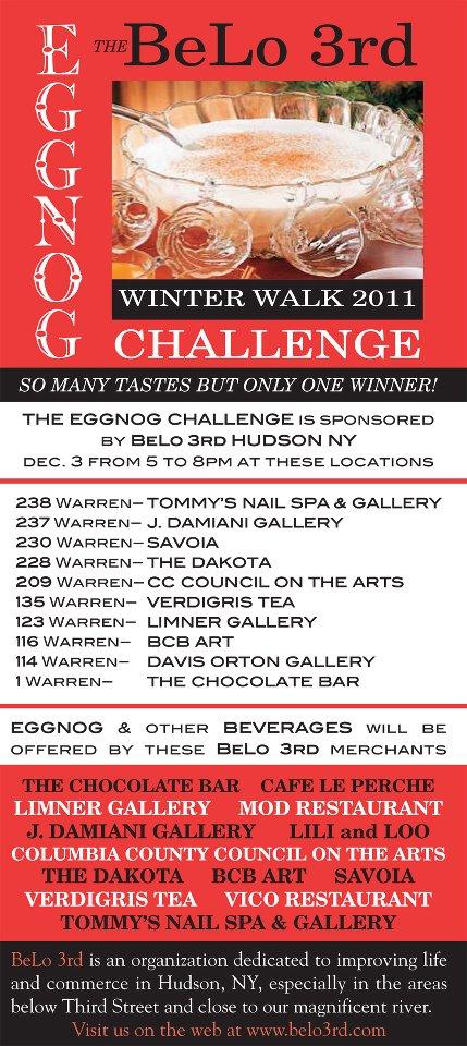 BeLo3rd Eggnog Challenge