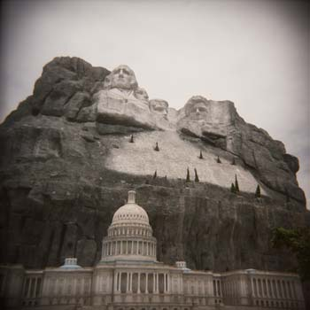 Capitol Mount Rushmore by Ernie Button