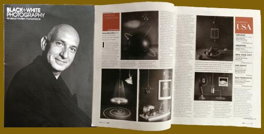 Black and White Magazine features John Chervinsky