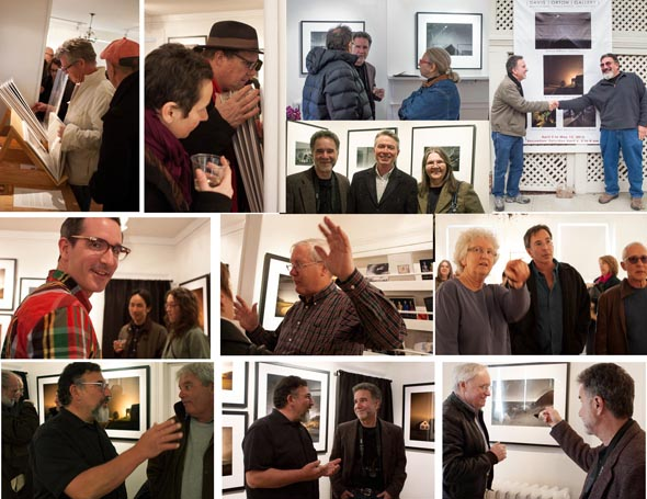 April 6 Reception at Davis Orton Gallery