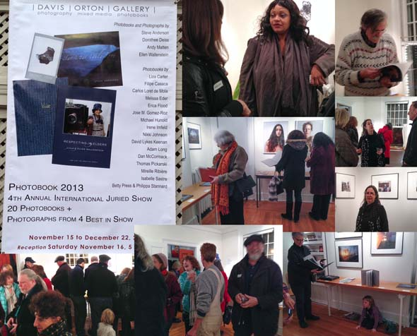 Photobook 2014 Reception at Davis Orton Gallery