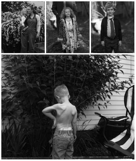 Four photographs by Judith Black