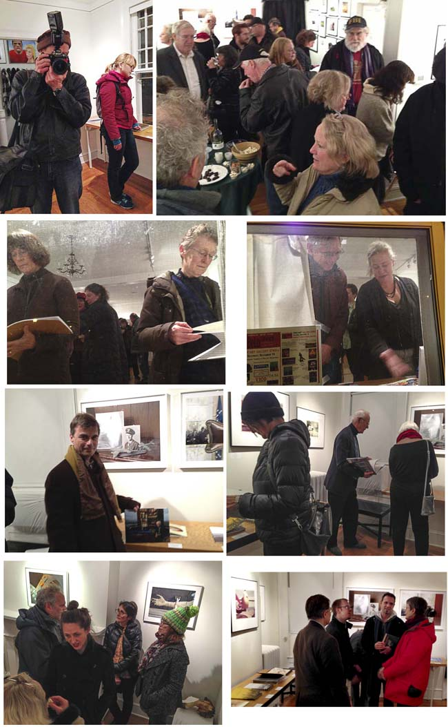 Reception at Davis Orton Gallery for Photobook 2014