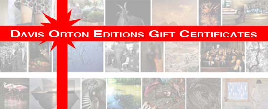 Davis Orton Edition GIFT CERTIFICATES