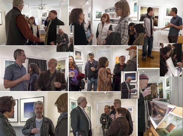 Reception for Kay Kenny, Miska Draskoczy. portfolios by Robin Michals and Mark Lyon