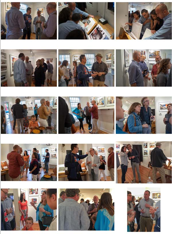 Davis Orton Gallery Reception  May 16