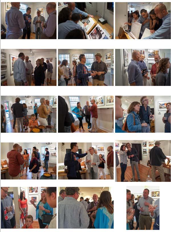 Davis Orton Gallery Reception  May 16