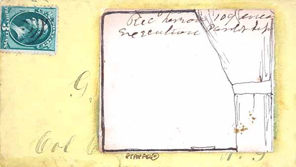 Fern T. Apfel, Envelope # 2: From the train