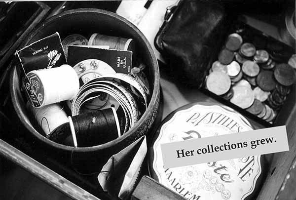 Miriam Goodman, Her collections grew,