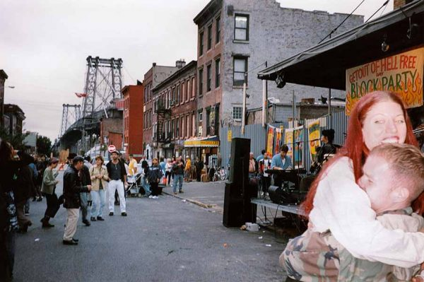 Amy Shapiro, 1989 Williamsburg Block Party