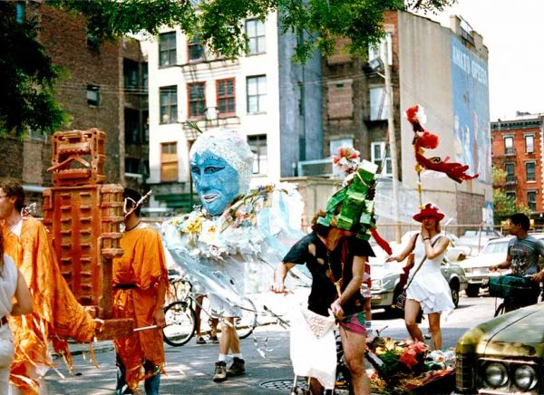 Amy Shapiro, 1991 Earth Celebration