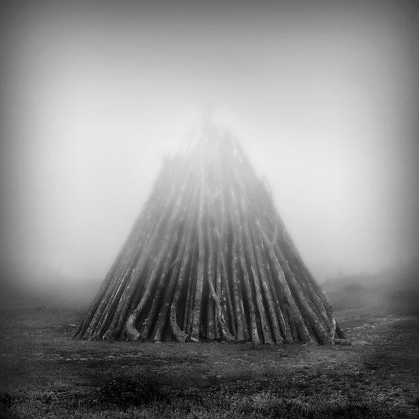 Woodpile - St. Shotts, Newfoundland by Robert Moran