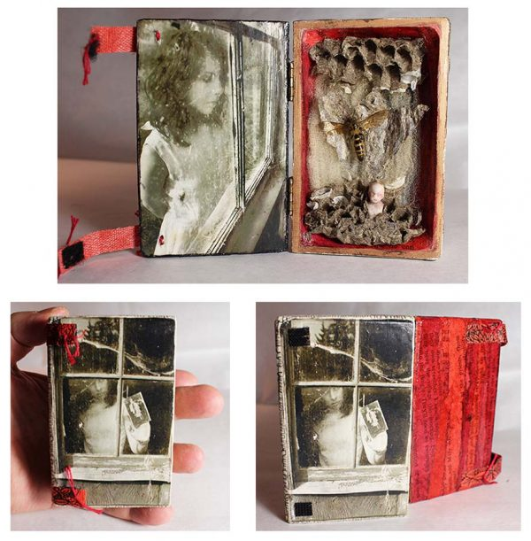 Smallest Window in the World, Little Box, Assemblage, mixed media by Smith Eliot